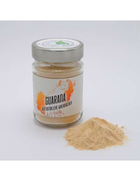 bio superfood kaffeeersatz guarana  im glas
