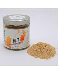 bio superfood maca pulver im im glas
